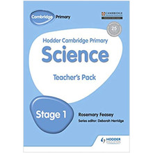 Hodder Cambridge Primary Science Teacher's Pack 1 - ISBN 9781471883965