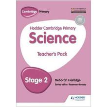 Hodder Cambridge Primary Science Teacher's Pack 2 - ISBN 9781471883866