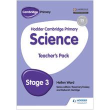 Hodder Cambridge Primary Science: Teacher's Pack 3 - ISBN 9781471884115