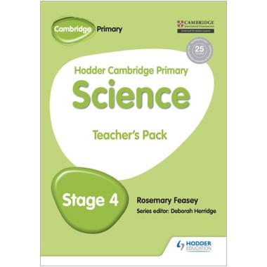 Hodder Cambridge Primary Science: Teacher's Pack 4 - ISBN 9781471884139