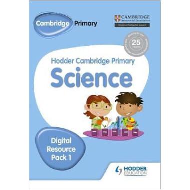 Hodder Cambridge Primary Science CD-ROM Digital Resource Pack 1 - ISBN 9781471883989