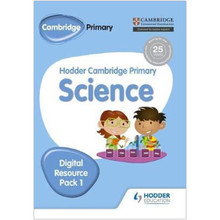 Hodder Cambridge Primary Science CD-ROM Digital Resource Pack 1 - ISBN 9781471883989