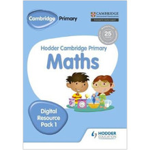 Hodder Cambridge Primary Maths CD-ROM Digital Resource Pack 1 - ISBN 9781471884696