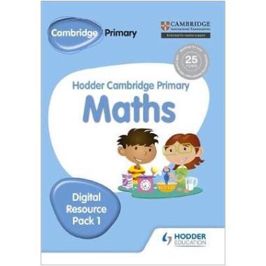 Hodder Cambridge Primary Maths CD-ROM Digital Resource Pack 1 - ISBN 9781471884696