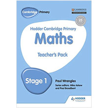 Hodder Cambridge Primary Maths Teacher's Pack 1 - ISBN 9781471884443