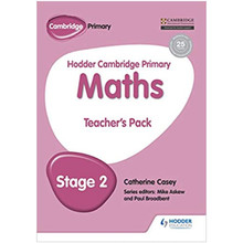 Hodder Cambridge Primary Maths Teacher's Pack 2 - ISBN 9781471884467