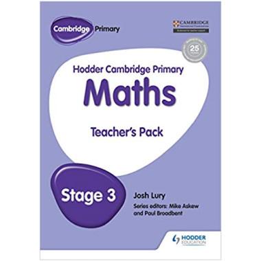 Hodder Cambridge Primary Maths Teacher's Pack 3 - ISBN 9781471884481