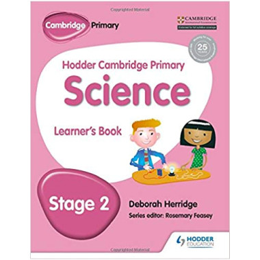 Hodder Cambridge Primary Science: Learner's Book Stage 2 - ISBN 9781471883835
