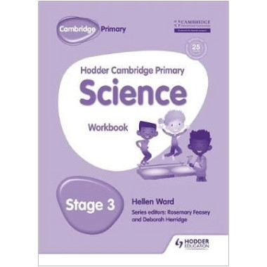 Hodder Cambridge Primary Science Workbook 3 - ISBN 9781471884191