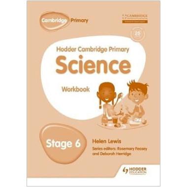 Hodder Cambridge Primary Science Workbook 6 - ISBN 9781471884252