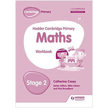 Hodder Cambridge Primary Maths Workbook Stage 2 - ISBN 9781471884597