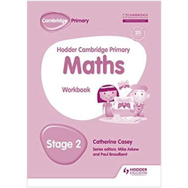 Hodder Cambridge Primary Maths Workbook Stage 2 - ISBN 9781471884597