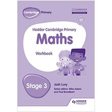 Hodder Cambridge Primary Maths Workbook Stage 3 - ISBN 9781471884610