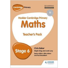 Hodder Cambridge Primary Maths Teacher's Pack 6 - ISBN 9781471884542