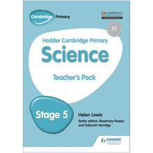 Hodder Cambridge Primary Science: Teacher's Pack 5 - ISBN 9781471884153