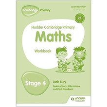 Hodder Cambridge Primary Maths: Workbook Stage 4 - ISBN 9781471884634