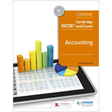 Cambridge IGCSE and O Level Accounting - ISBN 9781510421219