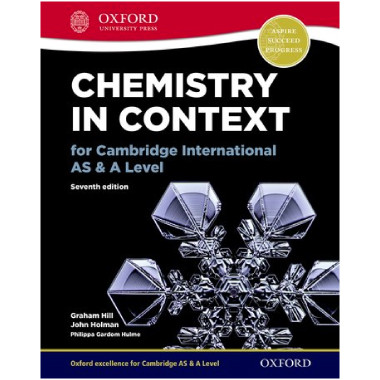Oxford Chemistry in Context for Cambridge International AS & A Level - ISBN 9780198396185