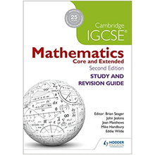Cambridge IGCSE Mathematics Study and Revision Guide 2nd Edition - ISBN 9781471856587