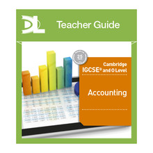 Cambridge IGCSE and O Level Accounting Online Teacher's Guide - ISBN 9781510424111