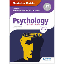 Cambridge International AS & A Level Psychology Revision Guide 2nd Edition - ISBN 9781510418394