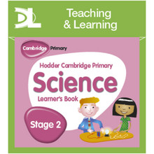 Hodder Cambridge Primary Science Online Digital Resource Pack 2 - ISBN 9781510426177