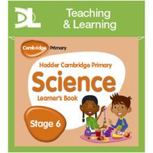 Hodder Cambridge Primary Science Online Digital Resource Pack 6 - ISBN 9781510426153