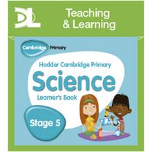 Hodder Cambridge Primary Science Online Digital Resource Pack 5 - ISBN 9781510426139