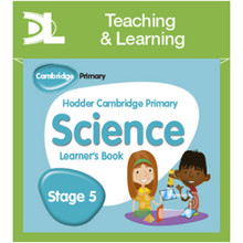Hodder Cambridge Primary Science Online Digital Resource Pack 5 Dynamic Learning - ISBN 9781510426139