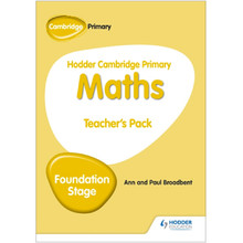 Hodder Cambridge Primary Maths Teacher's Pack Foundation Stage - ISBN 9781510431867