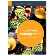 IB-Diploma Business Management Study Guide - ISBN 9780198392828