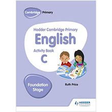 Hodder Cambridge Primary English Activity Book C Foundation Stage - ISBN 9781510457263