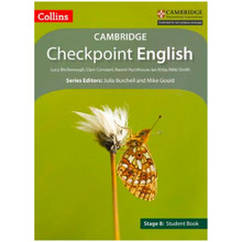 SALE ITEM - Collins Checkpoint English Stage 8 Student Book - ISBN 9780008140465
