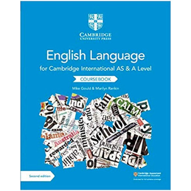 English Language for Cambridge International AS and A Level Coursebook - ISBN 9781108455824