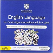 Cambridge International AS and A Level English Language Cambridge Elevate Teacher's Resource Access Card - ISBN 9781108455893