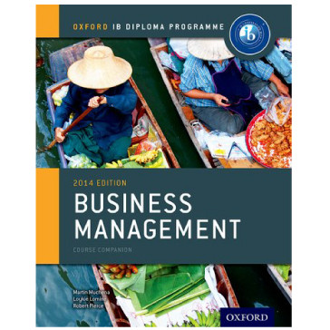 IB-Diploma Business Management Course Book 2014 Edition - ISBN 9780198392811