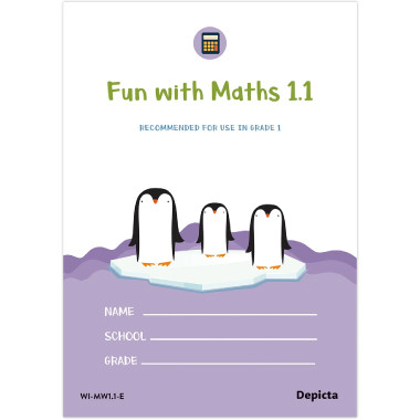 Fun with Maths1.1 Grade 1 - ISBN 9781776082186