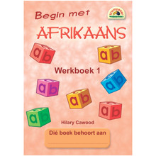Begin met Afrikaans Werkboek 1 - ISBN 9781920008895