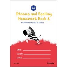 Phonics & Spelling Homework Book Grade 2 - ISBN 9781776082278