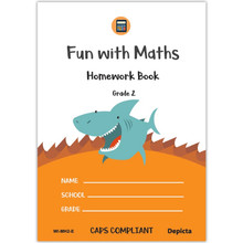 Fun with Maths Homework Book Grade 2 - ISBN 9781776082551