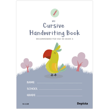 My Cursive Handwriting Book - ISBN 9781770321946