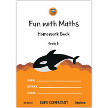 Fun with Maths Homework Book Grade 3 - ISBN 9781776082568