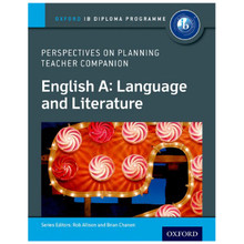 IB Perspectives on Planning English A: Language and Literature Teacher Companion - ISBN 9780198332671