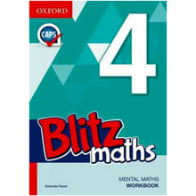 Blitz Mental Maths Gr 4 Workbook - ISBN 9780190408893
