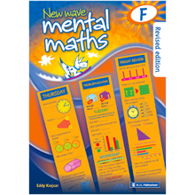 New Wave Mental Maths Workbook Book F - ISBN 9781921750045