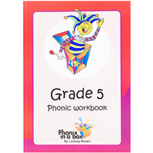 Phonix in a Box Grade 5 Phonic Workbook - ISBN 9780987016645
