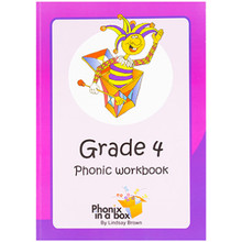 Phonix in a Box Grade 4 Phonic Workbook - ISBN 9780987016638