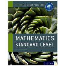 IB Mathematics Standard Level Course Book - Oxford IB Diploma Program- ISBN 9780198390114