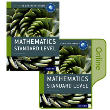 IB-Diploma Mathematics Standard Level Print and Online Course Book Pack - ISBN 9780198355113