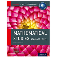 IB Diploma Mathematical Studies Standard Level Coursebook - ISBN 9780198390138